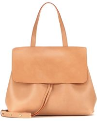 Mansur Gavriel - Lady Leather Shoulder Bag - Lyst