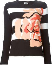 Sonia by Sonia Rykiel Flower Sweater - Lyst