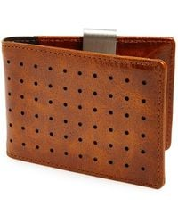 Orchill 'concord' Money Clip Wallet - Brown