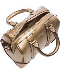 Givenchy Gold Mini Lucrezia - Lyst