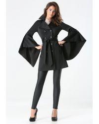 Bebe - Monica Drama Sleeve Coat - Lyst