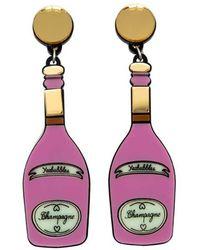 Yazbukey - Champagne Earring - Lyst
