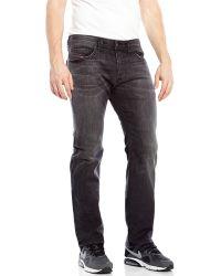 Diesel Black Safado Slim Straight Jeans - Lyst
