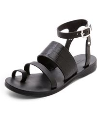 Rag & Bone Chartan Sandals black - Lyst