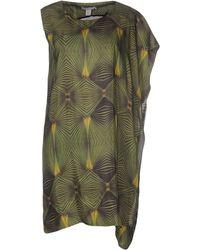 Adidas SLVR - Short Dress - Lyst