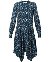 Stella McCartney Blue Rita Dress - Lyst