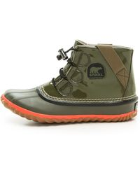 Sorel Outn About Glow Booties - Peatmoss - Lyst