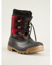 DSquared2 Chunky Hiking Boots - Lyst