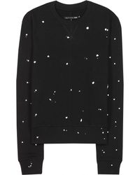 Rag & Bone Splatter Paint Sweatshirt - Lyst