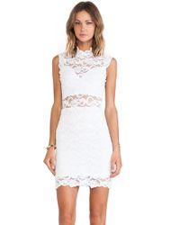Nightcap Dixie Lace Cutout Dress - Lyst