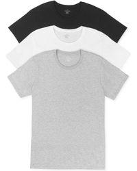 Calvin Klein Mens Classic Crewneck Tshirt 3pack - Lyst
