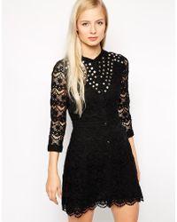 Dress Gallery - Pauline Lace Dress - Lyst