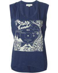 Stella McCartney 'Stella Greetings Print' T-Shirt - Lyst