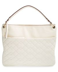 Marc By Marc Jacobs Tread Lightly Quilted-Leather Hobo Bag - Lyst