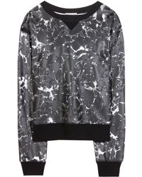 Balenciaga Printed Sweatshirt - Lyst