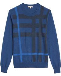 Burberry Brit Royston Cashmere-Cotton Long Sleeve Shirt - Lyst