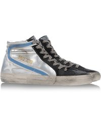 Golden Goose Deluxe Brand Black Hightops - Lyst