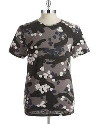 G-star Raw Abstract Camouflage Tee - Lyst
