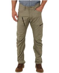 G-star Raw Powel 3d Tapered in Combat Ripstop - Lyst