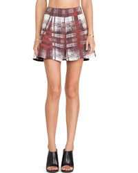 Lovers + Friends Purple Tatum Skirt - Lyst