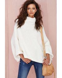 Nasty Gal Youre Getting Warmer Sweater - Lyst