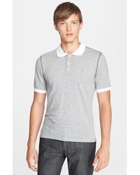 Band of Outsiders 'Inside Out' Extra Trim Fit Cotton Pique Polo - Lyst