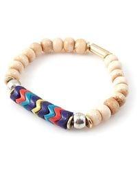 Vanessa Mooney Fawn Bracelet beige - Lyst