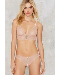 Nasty Gal | Can't Be Stopped Lace Panty | Lyst