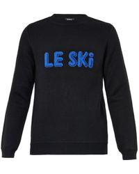A.P.C. Le Ski Wool Sweater - Lyst