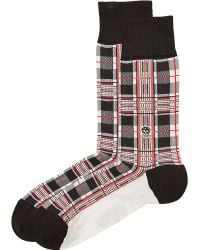Alexander McQueen | Printed Socks With Cotton - Multicolour | Lyst
