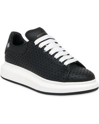 Alexander McQueen | Star Perforated Sneakers | Lyst