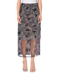 Dries Van Noten   3/4 Length Skirt   Lyst