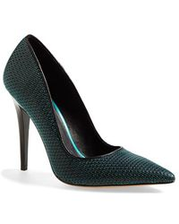 L.A.M.B. 'Bee' Perforated Leather Pump - Lyst