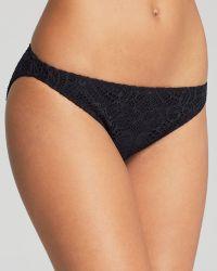 Ralph Lauren Polo Crochet Hipster Bikini Bottom - Lyst