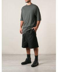DRKSHDW by Rick Owens Loose Fit Long Tshirt - Lyst