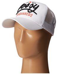 DSquared² Possy Baseball Cap - Lyst