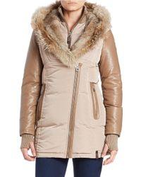 Rudsak - Fur-hooded Down Coat - Lyst