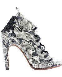 Atelje71 - Savannah Highheel Lace Up Sandal - Lyst