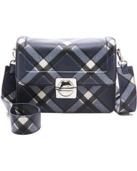 Marc By Marc Jacobs Top Schooly Messenger Bag  Skipper Blue Multi - Lyst