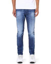 Diesel Tepphar Slim-fit Tapered Jeans L32 - Lyst