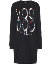 McQ by Alexander McQueen Cotton Sweater Dress - Lyst