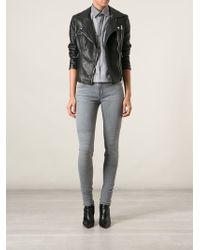 J Brand Distressed Skinny Jeans - Lyst