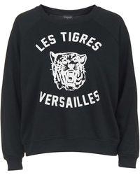 Topshop | Versailles Tiger Sweatshirt | Lyst
