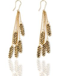 Aurelie Bidermann | Wheat Earrings | Lyst