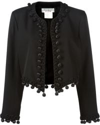 Yves Saint Laurent Vintage Cropped Jacket - Lyst