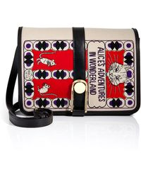 Olympia Le-Tan Leather Alices Adventures in Wonderland Shoulder Bag - Lyst