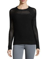 Todd And Duncan - Open-stitch Cashmere-blend Sweater - Lyst