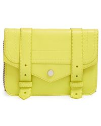 Proenza Schouler - 'large Ps1' Wallet On A Chain - Lyst