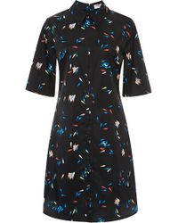 Opening Ceremony Petal Printed Shirtdress - Lyst