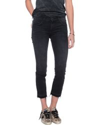Current/Elliott The Cropped Straight Jean - Lyst